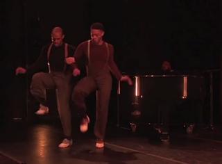 "Camilla A. Brown dancers perform a scene from ""Mr. TOL E. RAncE""Screenshot"