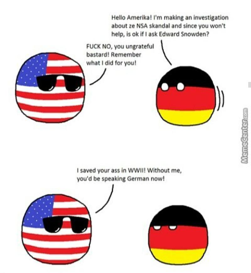 Illustration for article titled Ungrateful Germans