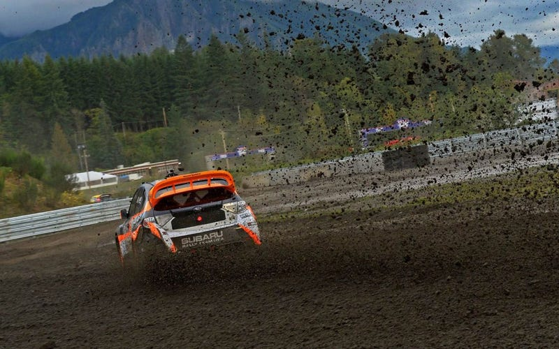Illustration for article titled Global Rallycross Seattle
