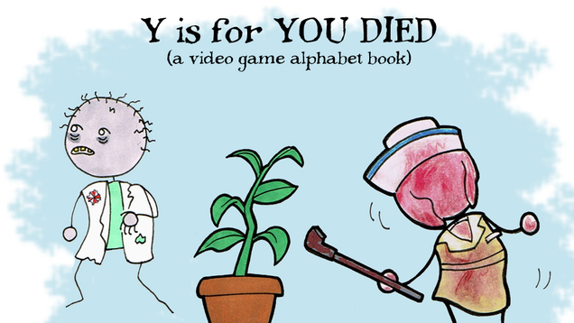 Learn Your ABCs With Our Video Game Horror Alphabet Book