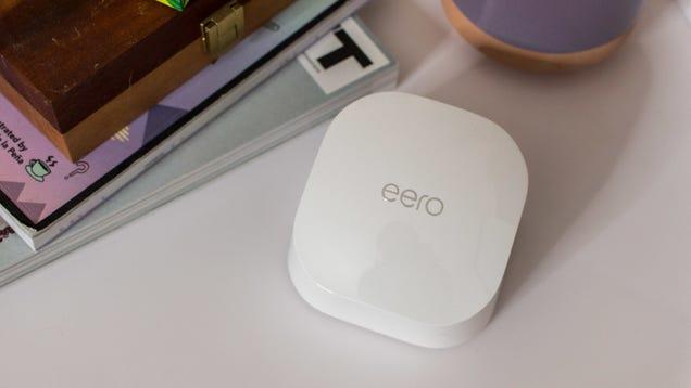 Amazon s Eero 6 Mesh Wifi Router Now Works With Apple HomeKit