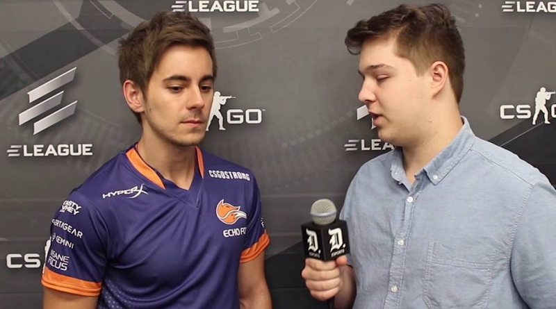 Counter-Strike player Sean 'sgares' Gares, new member of Misfits, back when he was with Rick Fox's Echo Foxes.