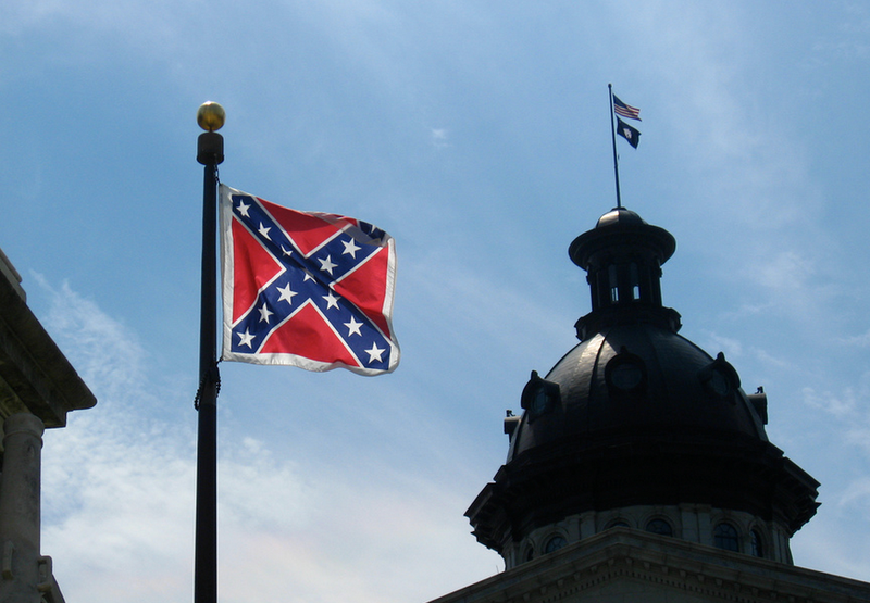 Illustration for article titled Is South Carolina Just Gonna Fly That Confederate Flag Today or What?