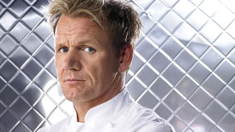 Illustration for article titled Gordon Ramsay to produce and star in an amateur cookery contest for Fox