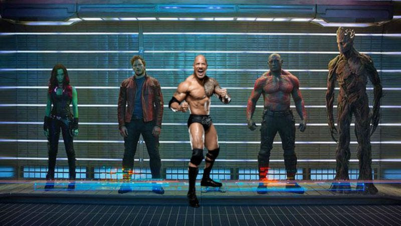 """Illustration for article titled Dwayne Johnson attached to star in a """"sci-fi action comedy"""""""