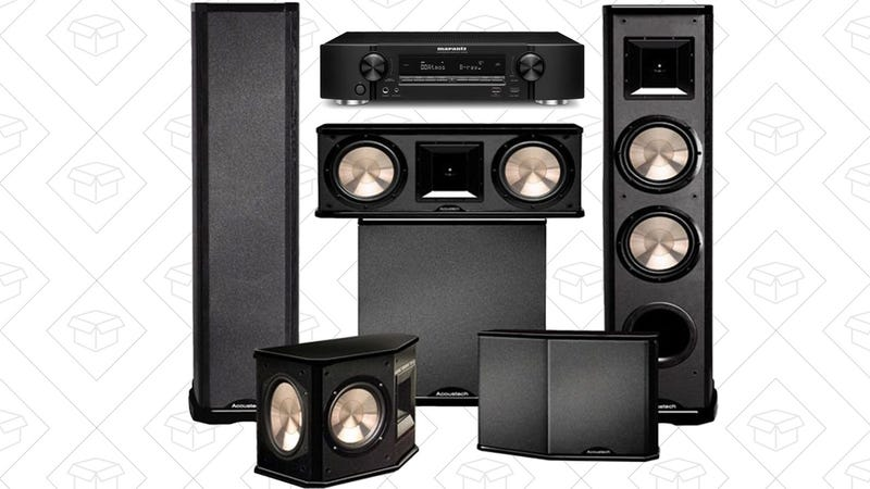 Marantz NR1606 with BIC Acoustech PL-89II Theater System and PL-200, $1199