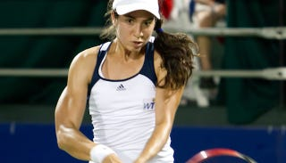 Illustration for article titled Holy Balls Christina McHale Is Ripped Too