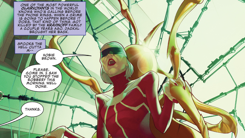 Madame Web doing her thing.