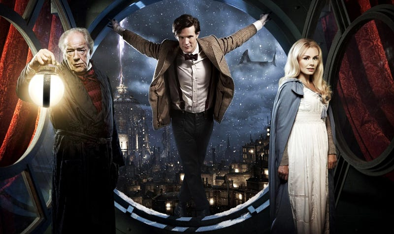 Come watch two hours of Matt Smith's Doctor Who with us on Saturday!