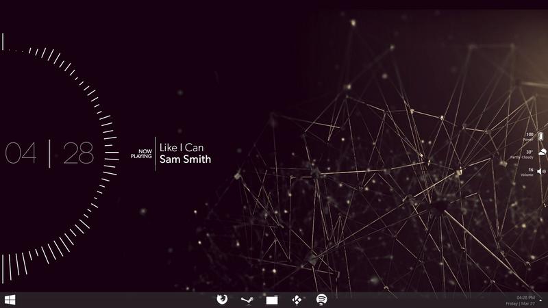 Illustration for article titled The Wireframe Equalizer Desktop