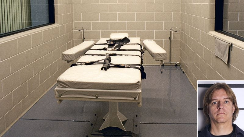 Illustration for article titled Death Row Inmate Dies Of Natural Causes 3 Days Into Execution