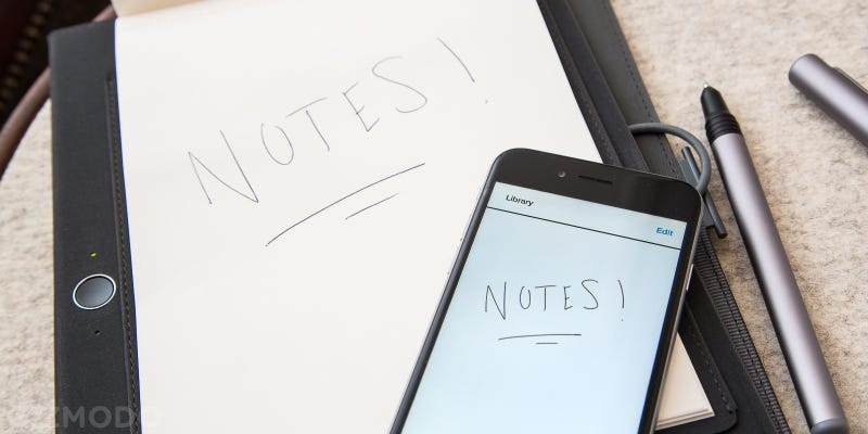Illustration for article titled Wacom's Digitizing Notebook Can Finally Convert Handwriting To Text