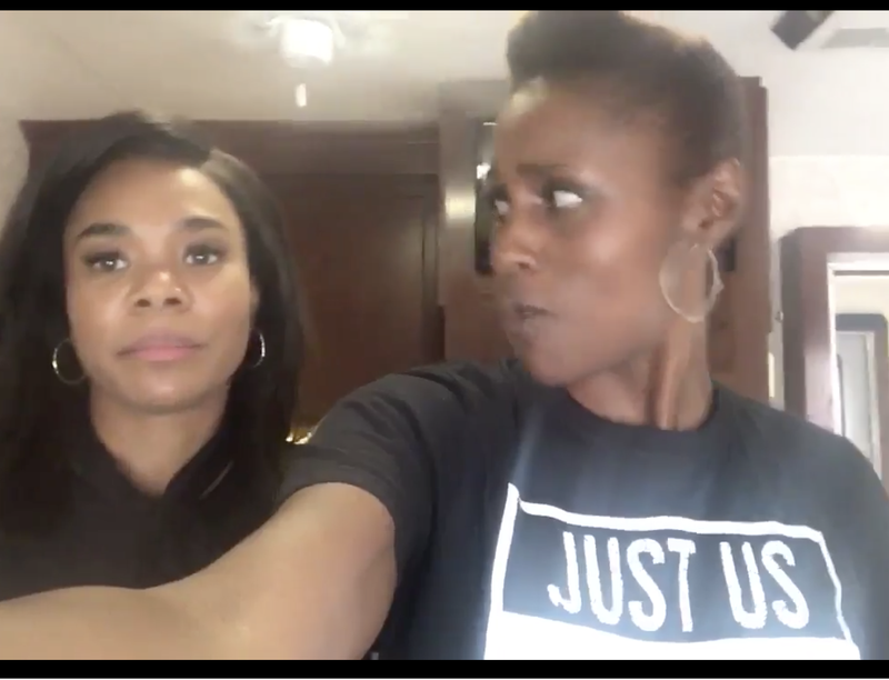 @issarae video screenshot via Twitter