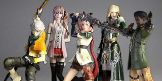 Illustration for article titled Final Fantasy XIII Toys Go Small, Collectible