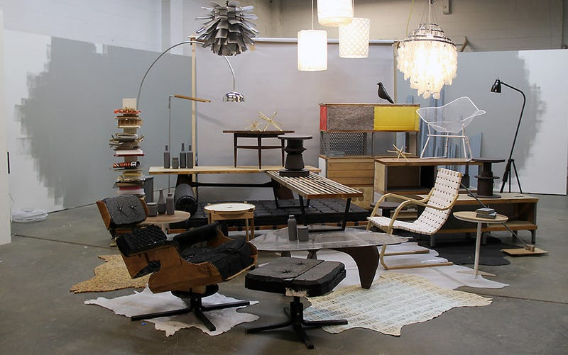 Designer Furniture Is All Too Easy To Knockoff But Modern Ruins A Makeshift Showroom By Artist Stephanie Syjuco Makes Art Out Of Imitation
