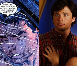 Illustration for article titled Smallville + Young Dick Grayson = Crap Sandwich