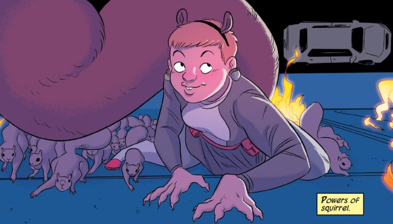 Illustration for article titled Marvel Just Made a Weird Change to Squirrel Girl