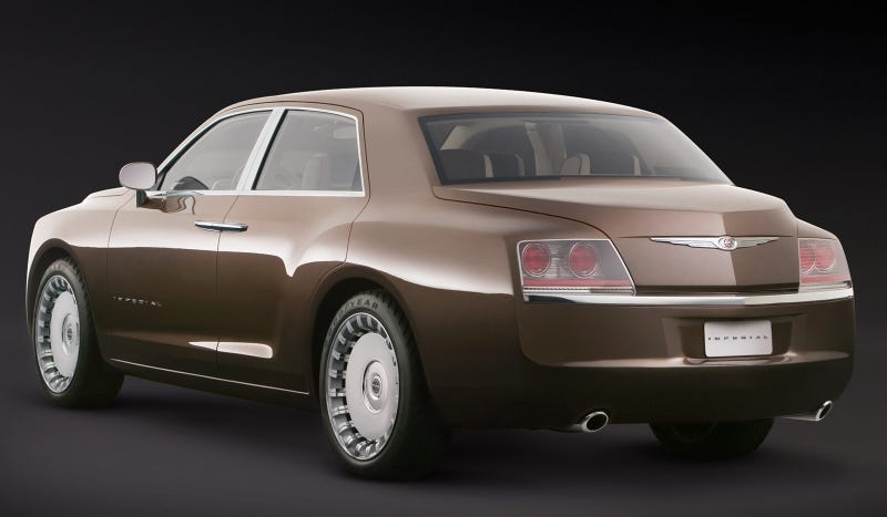 Illustration for article titled Chrysler Made A Bentley-Derived Luxury Concept Before Lincoln Pulled It Off