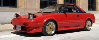 Illustration for article titled Deeply considering this 20V AW11 MR2...