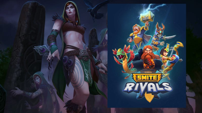 Illustration for article titled Smite Gets Celtic Gods And Another New Game