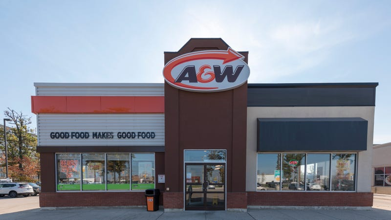 An A&W in Toronto, Canada