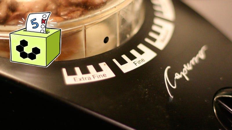 Illustration for article titled Five Best Burr Coffee Grinders
