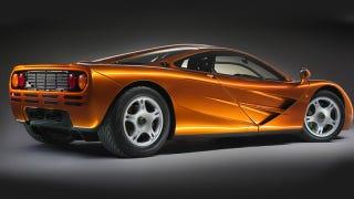 Illustration for article titled McLaren P1 Vs. F1: The Rear Quarter View