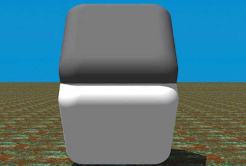 Illustration for article titled Esta ilusión óptica está engañando a tu cerebro: estos dos bloques son exactamente del mismo color