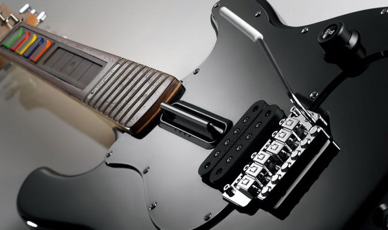 Illustration for article titled Logitech's $200 Guitar Controller Is Not Kidding Around