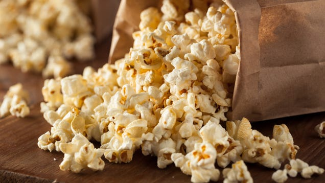 Cook Your Popcorn in Bacon Grease
