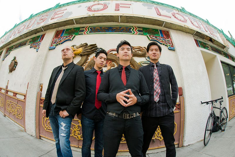 Members of the Asian-American rock group the Slants (Anthony Pidgeon/Getty Images)