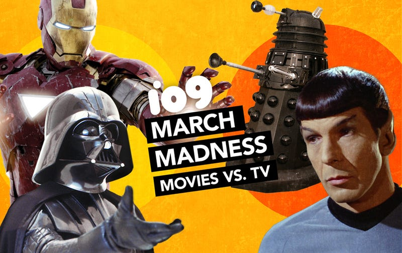 Illustration for article titled io9 March Madness Final 4: Trek vs. Doctor Who, Marvel vs. Star Wars!