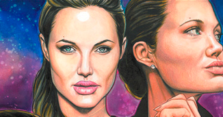 Illustration for article titled Noted Enigma Angelina Jolie Gets Her Own Comic Book