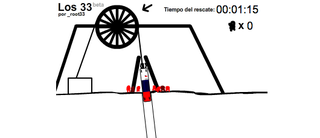 Illustration for article titled Try To Rescue All 33 Chilean Miners In This Flash Game