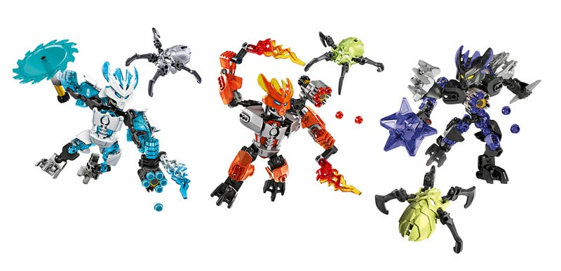 Illustration for article titled LEGO Bionicle Triumphantly Returns In January