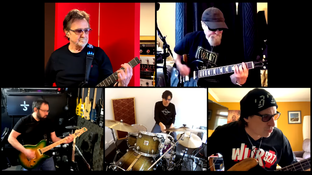 And Now, Blue Öyster Cult s  Godzilla,  Performed By the Band Live at Home