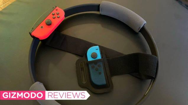 Nintendo s Ring Fit Adventure Tricked Me Into Liking Squats but the Calorie-Burn Was Lacking