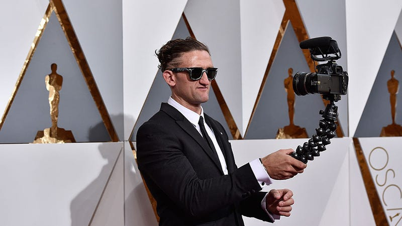 Image result for casey neistat on stage