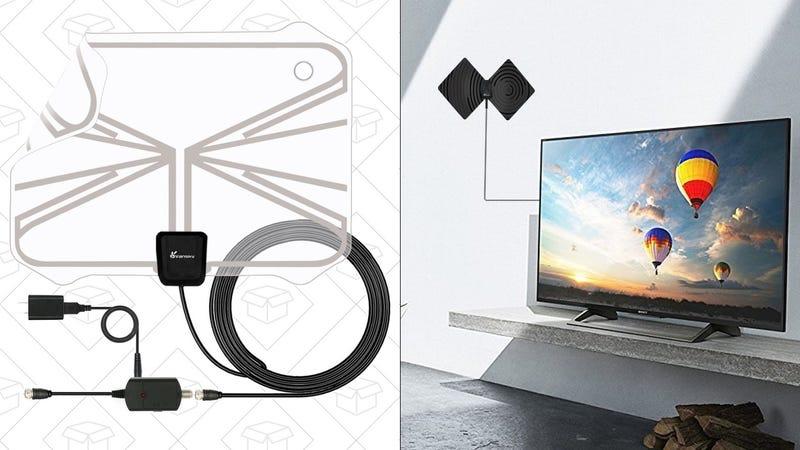 Vansky HDTV Antenna | $14 | Amazon | Promo code 3IX5Y4GD Vansky HDTV Antenna with Stand | $14 | Amazon | Promo code 3IX5Y4GD