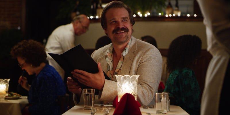 David Harbour as Jim Hopper.