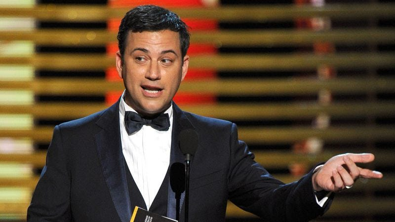 Illustration for article titled Jimmy Kimmel might host the Emmys again