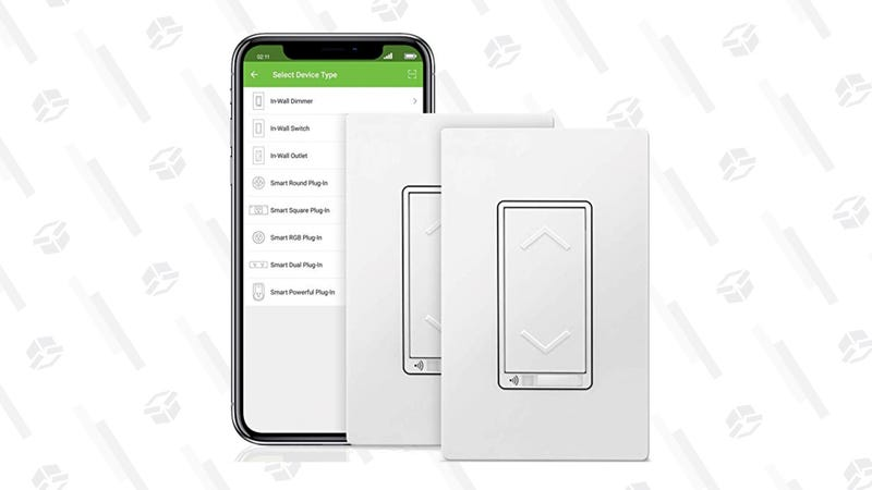 TOPGREENER Smart WiFi Dimmer Switch, 2 Pack | $40 | Amazon