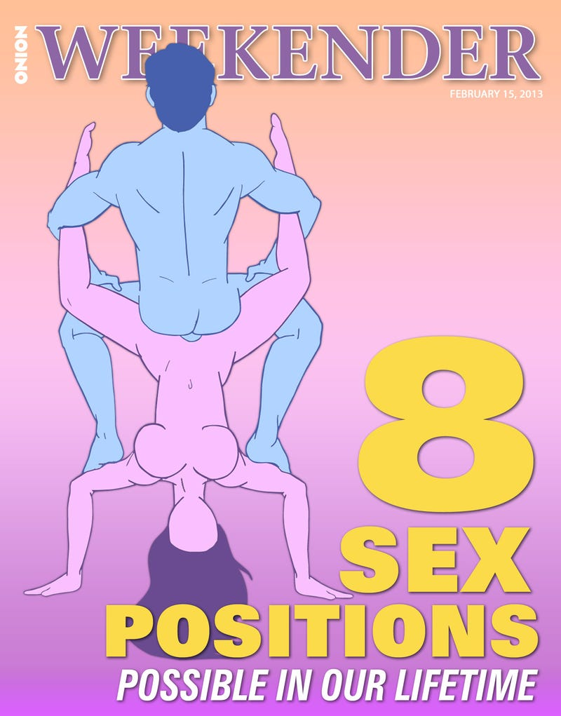 Illustration for article titled 8 Sex Positions Possible Within Our Lifetime
