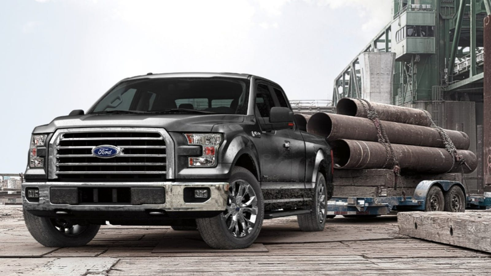 2015 ford f 150 can tow 12200 lbs carry an absurd 3300 lbs in bed