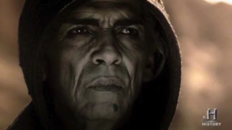Illustration for article titled Obama-esque Satan Actor 'Cast Out' of Biblical Film