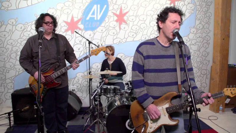Yo La Tengo performing at an A.V. Club Undercover