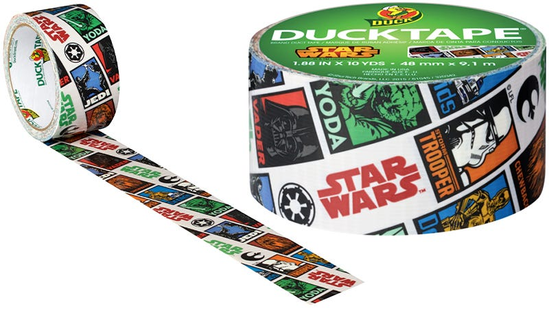 Illustration for article titled You Can NowFix Pretty Much Anything Using Star Wars-Branded Duct Tape