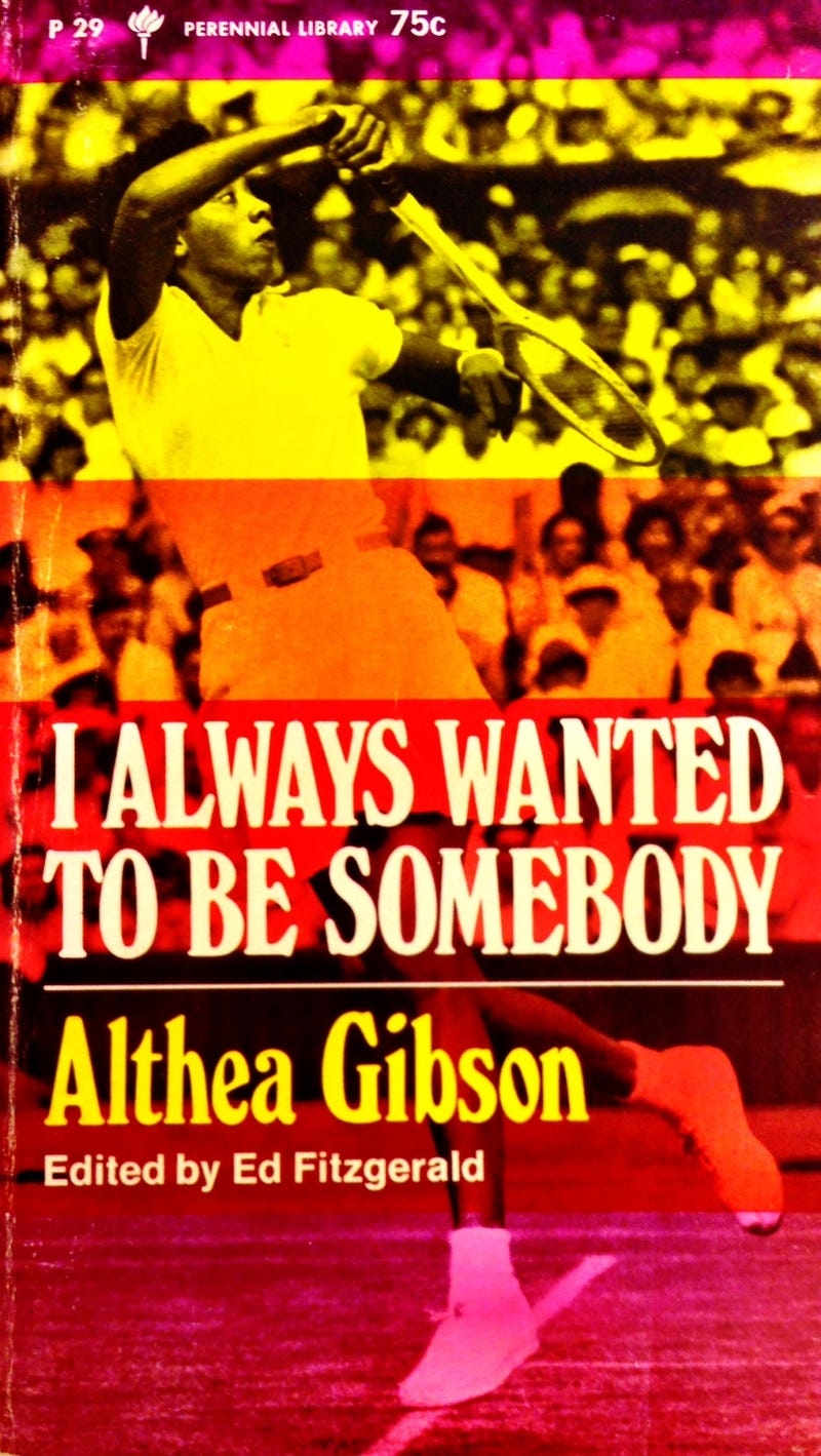 Illustration for article titled Althea Gibson and Robert Lipsyte's Forgotten Bookmark
