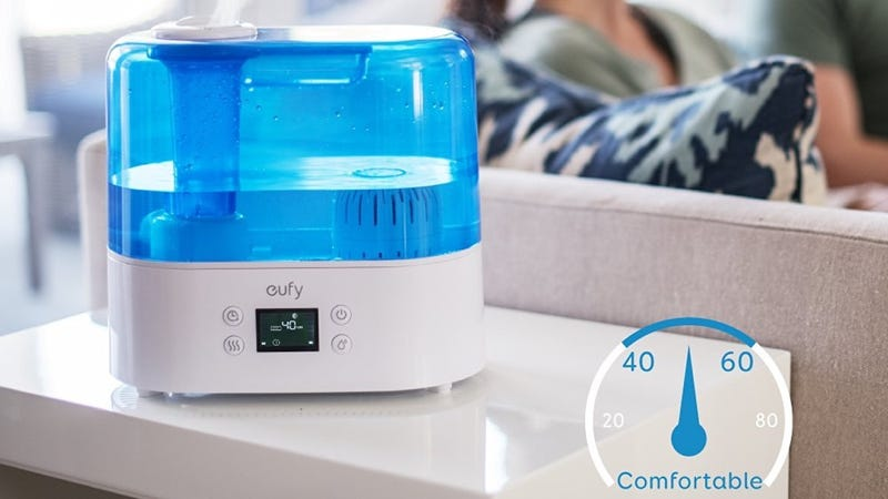Eufy (Anker) Humos Air 1.1 Humidifier, $48 with code EUFYBGR1