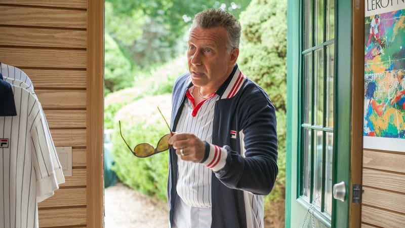 Reiser as Getty in Red Oaks.
